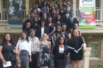 The JSU Kappa Omicron Chapter of Sigma Tau Delta recently held its Spring 2019 induction ceremony and had a record 51 new inductees from various disciplines and majors. (Photo special to JSU)
