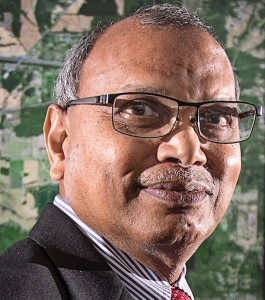 Dr. Francis Tuluri is a JSU professor for CSET's Department of Civil and Environmental Engineering. His desire is to see this affordable system used for gardens, large-scale systems and in developing countries, where water supply is particularly scant.