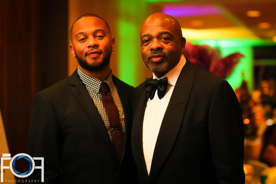 Jeffrey Graves pictured with his father federal Judge James E. Graves. (Photo by Full of Flava)