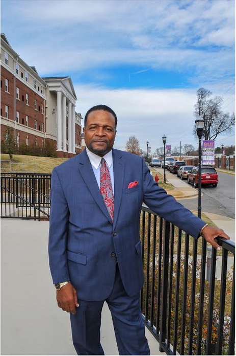 Dr. George French, president of Miles College and president designee of Clark Atlanta University, is also a CME Minister and father of three. French says mentorship is essential to leadership and it is the reason he was able to successfully transition from the fundraising sector to the presidency. (Photo special to JSU)