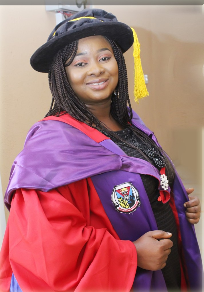 "JSU's Dr. Olamide Crown, a post-doctoral fellow, said she ""grew up in a society where female education is not important and considered a waste of time."" Today, the researcher of cardiovascular disease is showing the world that women matter, and they contribute greatly to society."