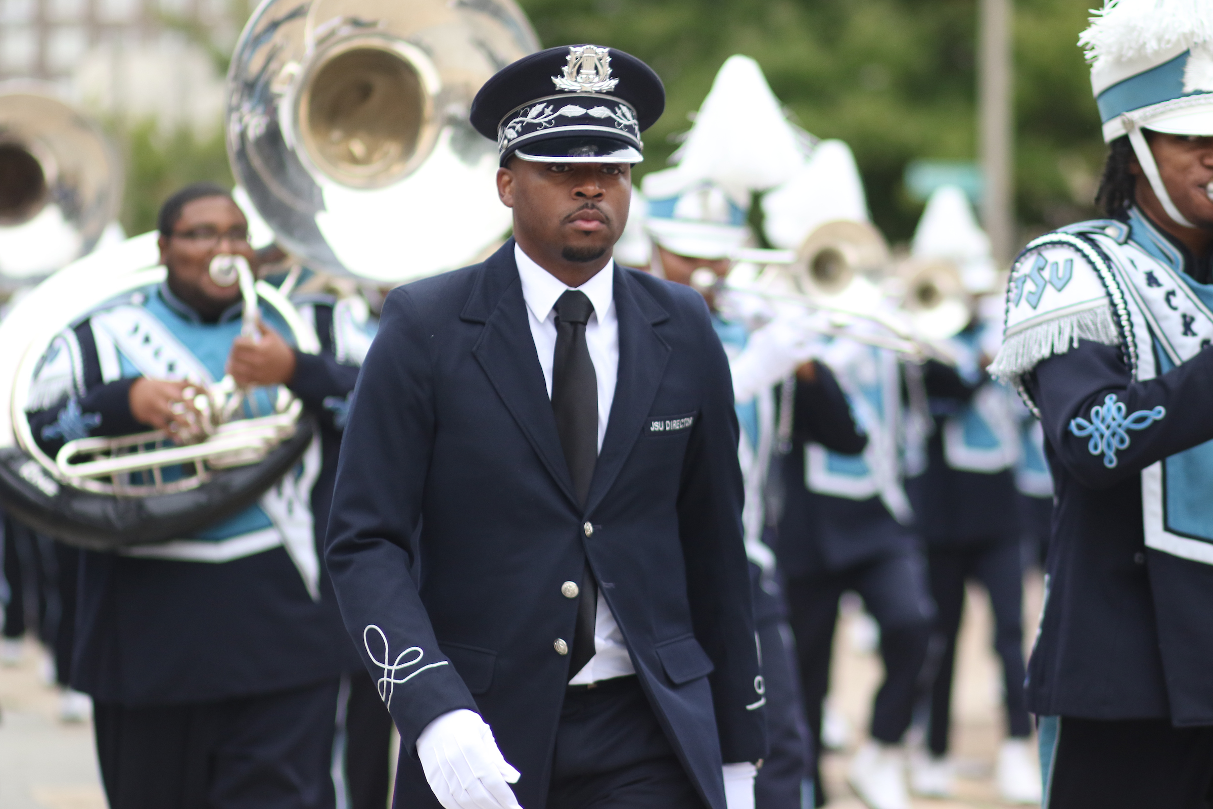 Jackson State University's Sonic Boom of the South will make it's ninth appearance when it performs in the 17th Honda Battle of the Bands on Jan. 25, 2020, in Atlanta. (Photo by Aron Smith/JSU)