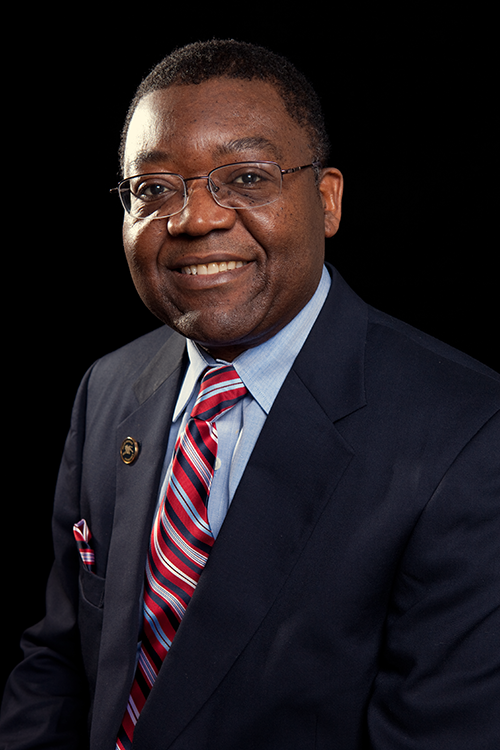 Principal investigator Dr. Paul Tchounwou in JSU's College of Science, Engineering and Technology said a major goal will be to provide a biomedical research environment that fosters team science and innovative research on health issues of minorities and underserved communities. (Photo by Charles A. Smith/JSU).