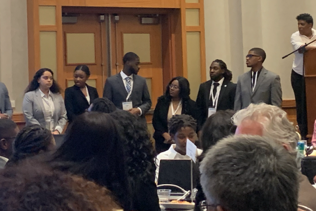These are among the dozens of Jackson State University students who participated in the annual conference of Black Engineers of the Year (BEYA). The event was held earlier this month in Washington, D.C.
