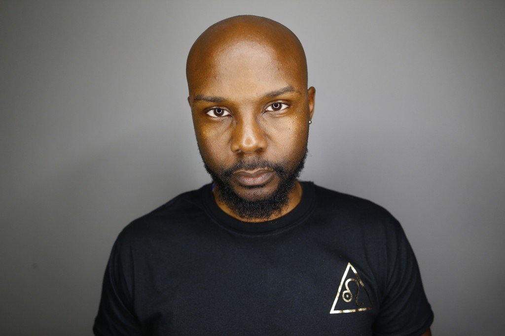 Lee Payton, 34, a graphic design major, founded fashion week at JSU. Payton said he wanted to show students how to create something sustainable for themselves. (Photo by Charles A. Smith/JSU)