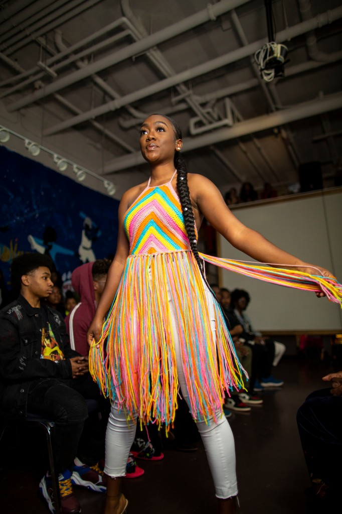 JSU Art Galleries hosted a student-initiated fashion week last month that gave students from various disciplines to showcase their talents. (Photo by William H. Kelly/JSU)