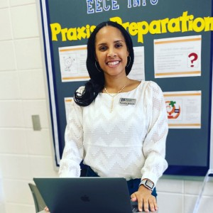 """Kanesha N. Bennett is director of the Lottie W. Thornton Early Childhood Center at JSU. """"More than 90% of schools around the world are closed, leaving parents with the responsibility of making sure their kids continue their education at home. Some are improvising seamlessly, while others find the task to be daunting,"""" said Bennett. (Photo special to JSU)"""