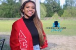 Ananda Collins, who graduated cum laude from JSU this past spring, said she was proud to become a member of the sorority Delta Sigma Theta, Inc. because of their involvement in the community. (Photo special to JSU)