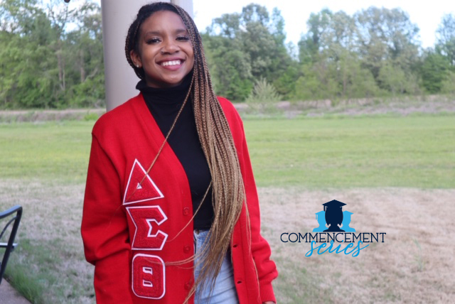 Ananda Collins is from Jackson, Tennessee. But the JSU graduate is heading to New York this fall on a full-ride to Syracuse University. (Photo special to JSU)