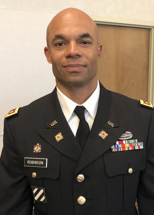 Lt. Col. Robinson is chair of JSU's Department of the Army ROTC in the College of Liberal Arts. Explaining the reason for social distancing and physical isolation, he said the U.S. Army Cadet Command's primary focus is on the health, welfare and safety of our soldiers, civilians, cadets and family members.