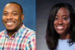 Spencer McClenty is the associate director for University Communications and Digital Media, and Kentrice Rush is the manager for Digital Media at JSU.