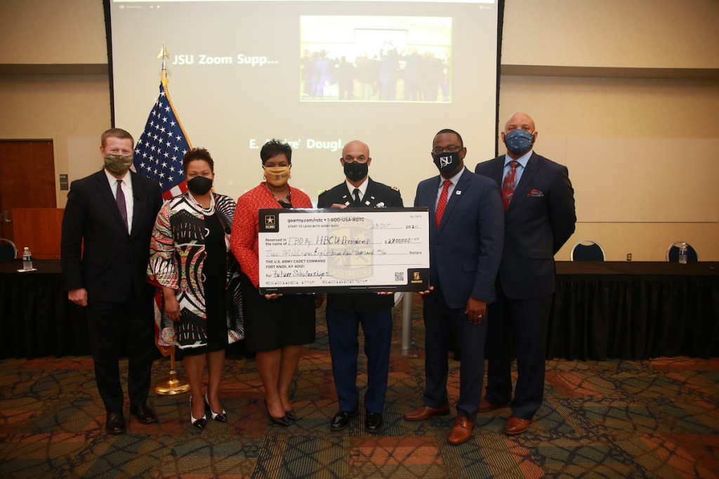 The U.S. Army is providing $2.8 million to be distributed among 26 HBCUs. (Photo by William H. Kelly III/JSU University Communications)