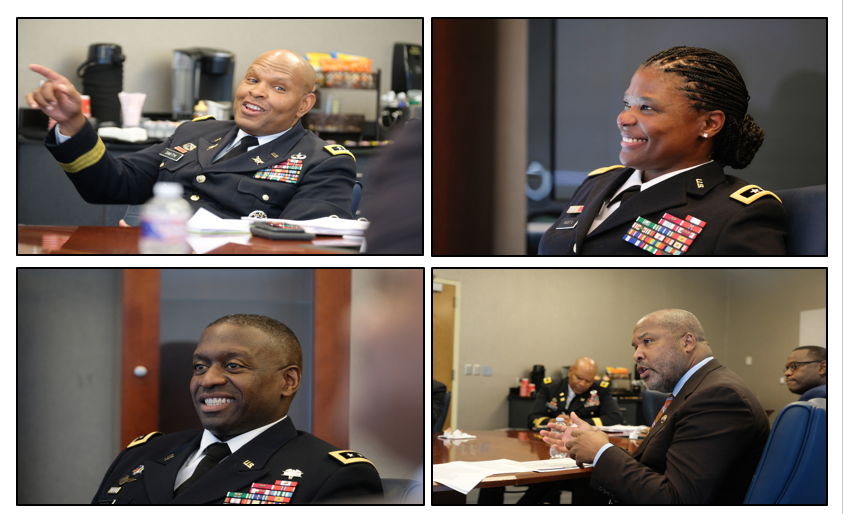 Throughout the day, military and civilian leaders helped bring awareness about the importance of collaboration and diversity in the U.S. Army. (Photos by Charles A. Smith/JSU University Communications)