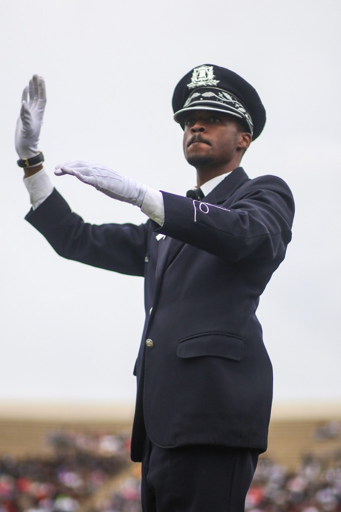 Dr. Roderick Little, serves as director of bands at JSU. (Photo by Charles A. Smith/JSU)