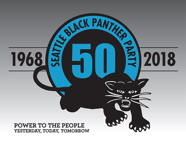 "The Black Panther Party's Seattle, Washington chapter, like all affiliated organizations, uses the widely-recognized black panther logo that denotes the ""strength and dignity of black people,"""