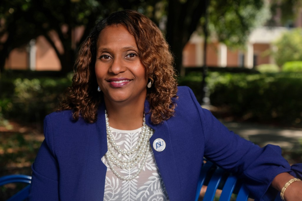 Dr. Loria Brown-Gordon is now the associate dean of the honors college. She says her goal has always been to build upon and sustain the work that founder Dr. Maria Luisa Alvarez Harvey started. (Photo by Charles A. Smith/JSU)
