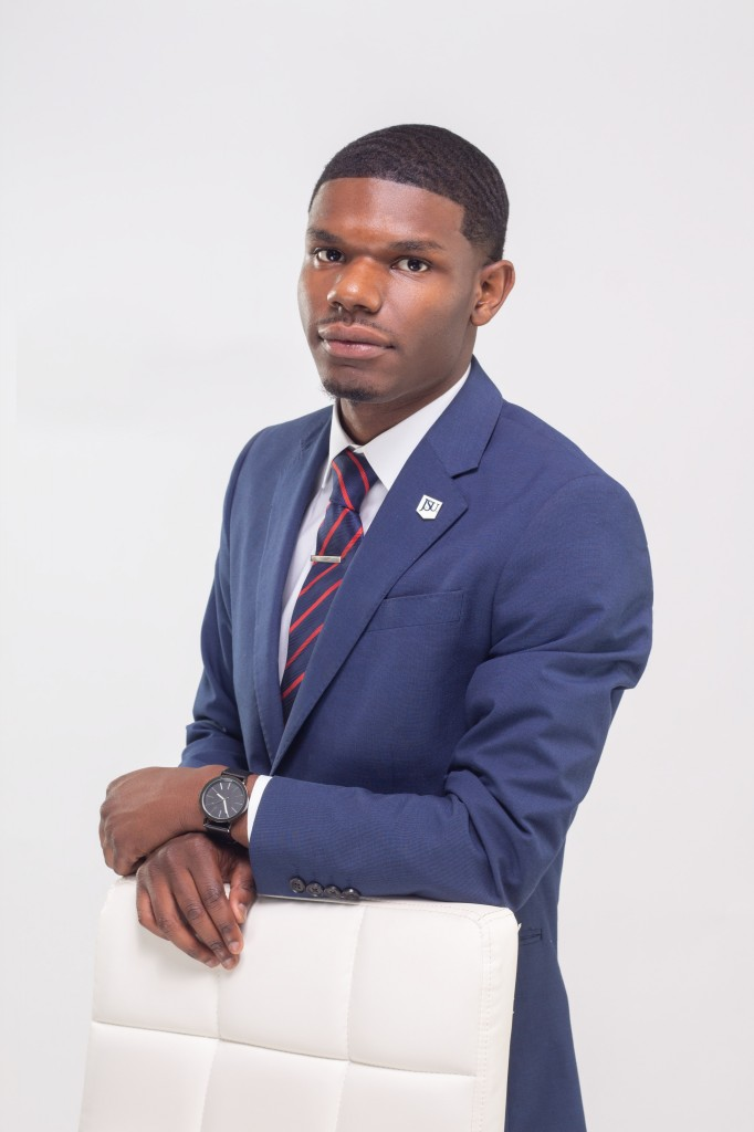 """""""I was initially interested in JSU because of the illustrious Summer Bridge Program. My brother, La'Curtis Powell, was also enrolled here, and I saw he made a name for himself. I also believed in myself and simply took a leap of faith towards furthering my education,"""" says Jaquan Powell about why he chose JSU.  (Photo special to JSU)"""