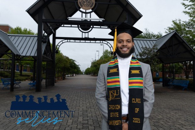Michael taylor is a spring 2021 graduate, who is excited about his next chapter. (Photo special to JSU)