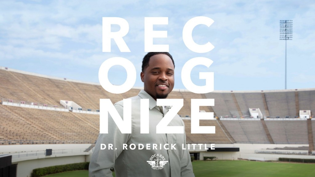 """""""When we play in the HBCU setting, you don't just listen to our bands, you connect. Because that's who we are as people,"""" said Dr. Roderick Little, director of the Sonic Boom at JSU. Photo by: Erica Genece"""