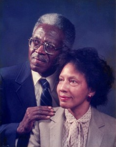 Dr. John A. Peoples Jr. and Mary E. Peoples.