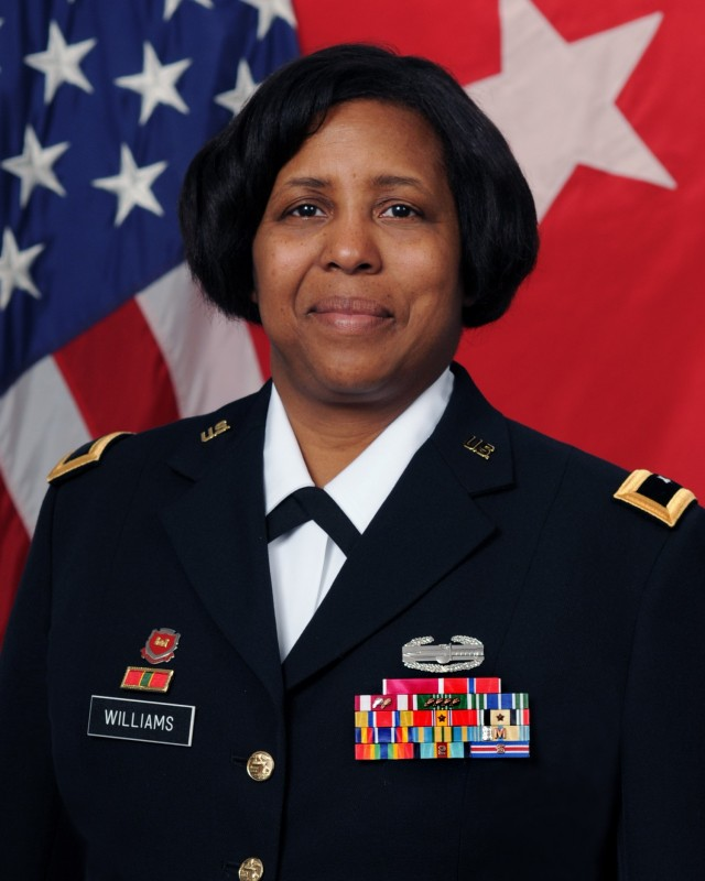 Donna R. Williams is a computer scientist at the U.S. Army Engineer Research and Development Center (ERDC) in Vicksburg, Mississippi. In ROTC at JSU, she said she began learning about leadership and team-building.